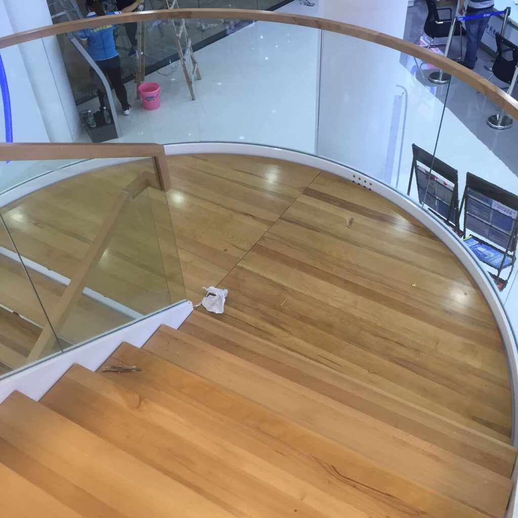 Curved Staircase